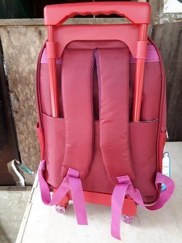 Vendo mochilas com rodinhas - Foto 4