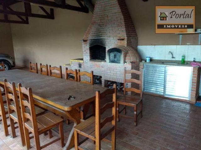 Chácara com 2 dormitórios para alugar, 250 m² por R$ 2.600/mês - Gramado Santa Rita - Camp - Foto 4