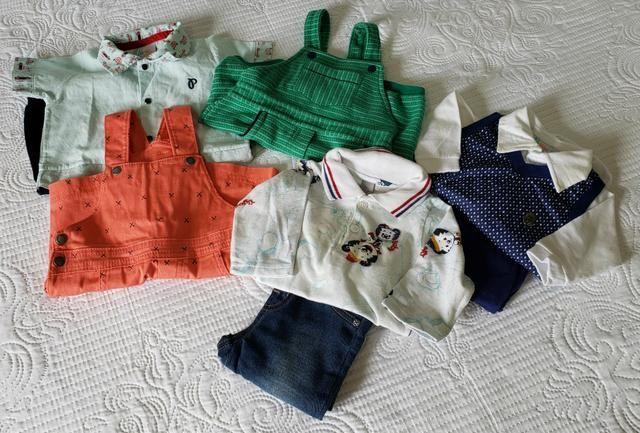 Roupas para Bebê Paraiso, Tigor, Hering. Praticamente Novas - Foto 2