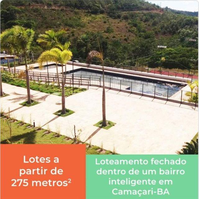 lotes/terrenos em condomínio fechado na via parafuso em Camaçari - Foto 12