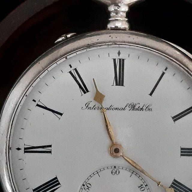 Relógio de Bolso Internacional Watch - Foto 6