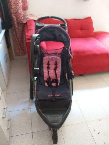 Carinho de bebe bem conversado e muito bom baratinho só 400 R$  - Foto 3