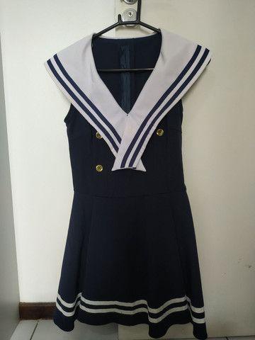 Fantasia de marinheira, tamanho M
