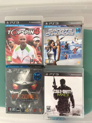 Jogos PS3 - originais - variados - Foto 3