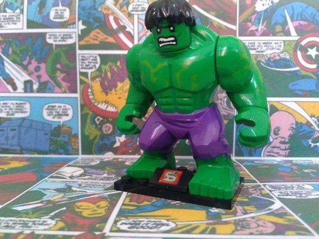 17 miniaturas Marvel, DC Comics e NinjaGO - Foto 4