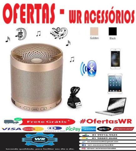 Caixa De Som Bluetooth Q3 + Brinde e Entrega Grátis - Foto 3