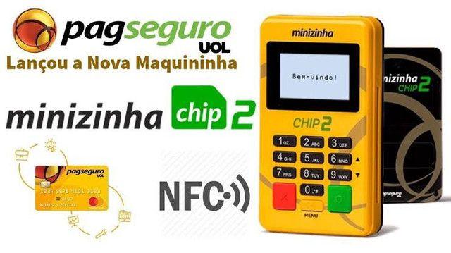 Máquininha de cartão com Chip 2 - Foto 5