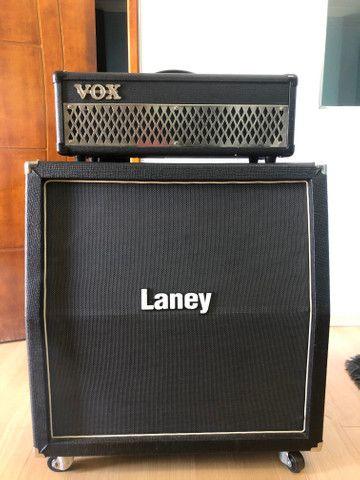 Cubo guitarra Vox - Caixa Laney