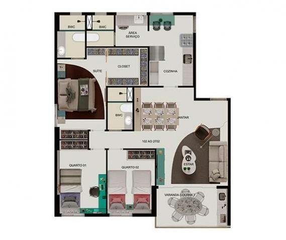 Apartamento 03 quartos em Boa Viagem - Foto 9
