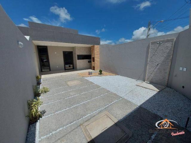 Casa com 3 dormitórios à venda por R$ 275.000,00 - Coité - Eusébio/CE - Foto 3