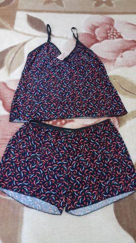 Pijamas malha fria  - Foto 4