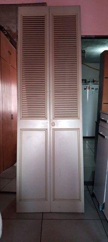 4 Portas de closet 2 metros de altura por 80cm de largura