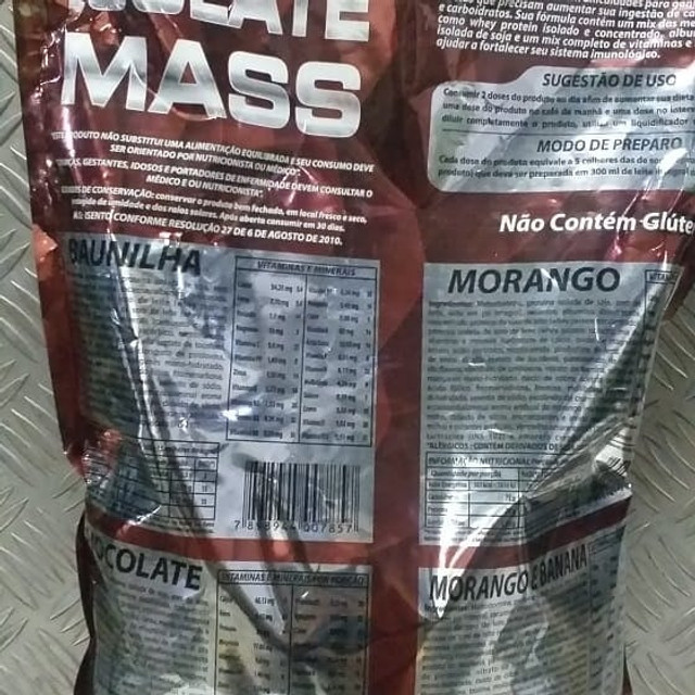 Isolate Mass (3kg) Fisionutri - Foto 2