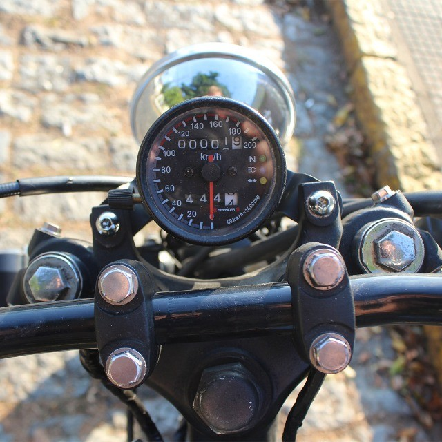 Moto Coffe Racer Custom - CB 400 82 Estilizada Tracker 1982 - Foto 18