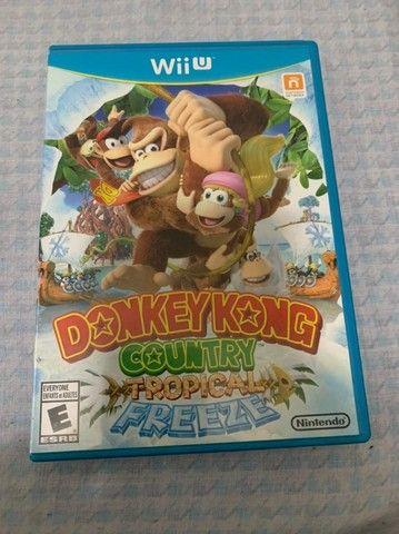 Donkey Kong Country Tropical Freeze - Wii U - Usado