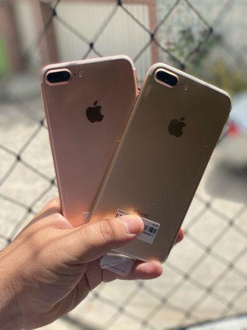 iPhone 7 Plus 128gb VITRINE disponível Gold e rose