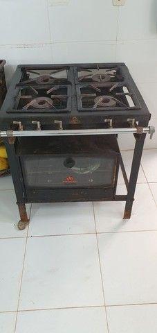 Fogão industrial + forno