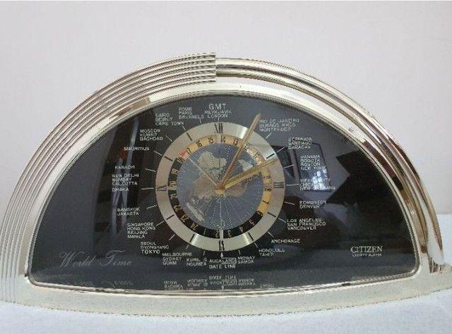 Relógio Citizen World Time Raridade Japonês