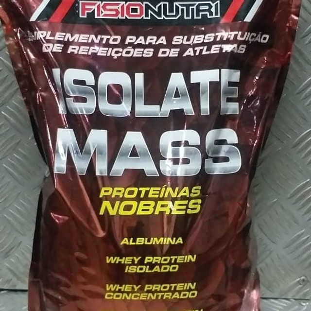 Isolate Mass (3kg) Fisionutri