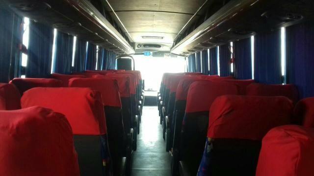 Ônibus rodoviário 2003 todo em dia