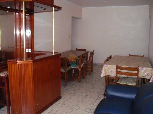 Apartamento para alugar, 90 m² por R$ 1.700,00/mês - Canto do Forte - Praia Grande/SP - Foto 4