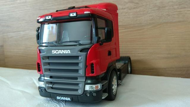 Caminhão Scania r 470 noivo para colecionadores