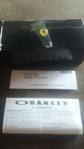 Óculos de sol oakley original