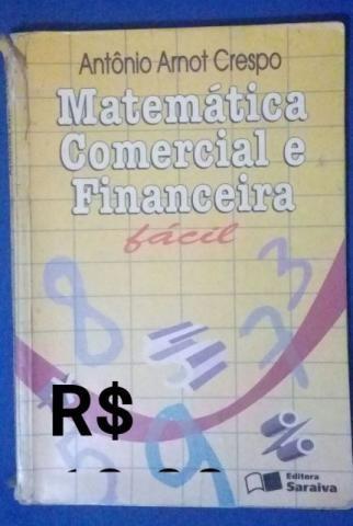 Livros de Matemática ( A partir de 10,00)