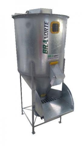 Misturador para plastico, Silo misturador, Misturador ração, misturador PET 600 litros