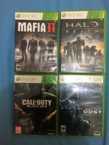 Vendo esses 4 jogos xbox ou troco