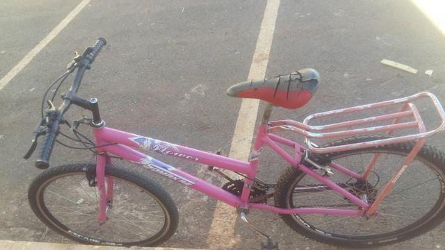 Bike rosa barata