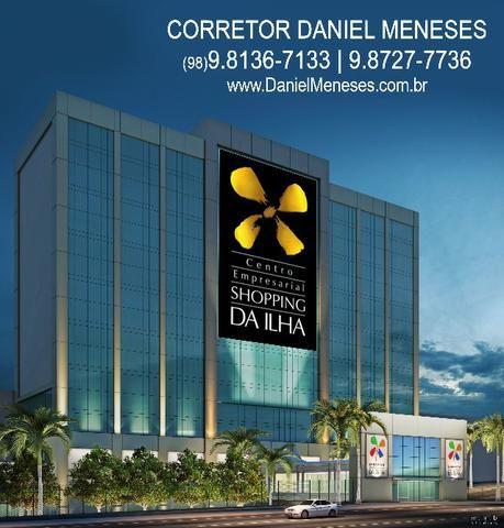 Sala comercial no Centro Empresarial Shopping da Ilha