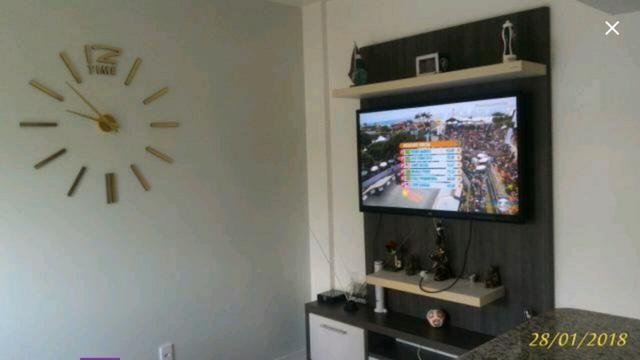 Apartamento no Calafate I, 2 quartos, 3 ar cond., wc social, todo mobiliado com projetados