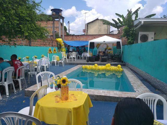 Área para eventos com piscina - Foto 5