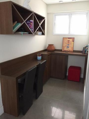 Ap Grand Splendor. 142 m² - 3 suítes, todas com armários planejados e ar condicionado - Foto 13