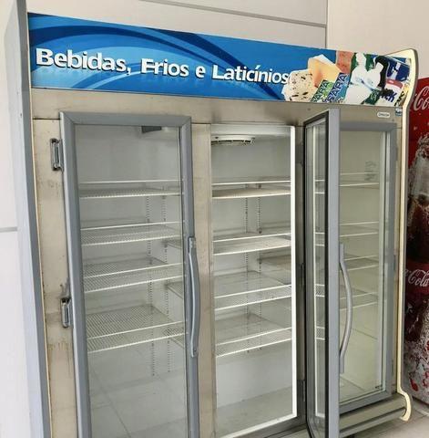 Freezer 3 portas expositor