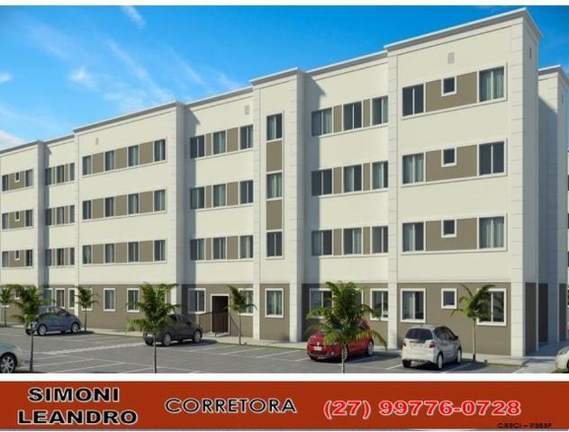 """SCL - 57P - """"Parque Ventura"""" Apartamento 2 Qtos em Balneário de Carapebus - Foto 2"""