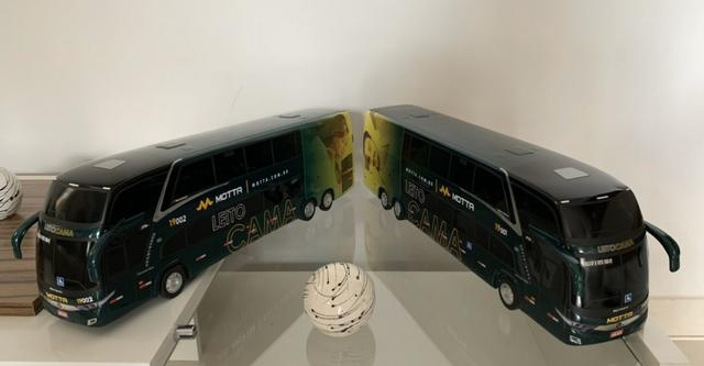 Miniaturas Ônibus MOTTA Leito Cama - Foto 4