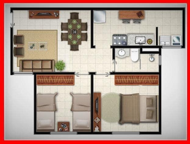 Apartamento 2/4 no Jundiaí - Foto 13