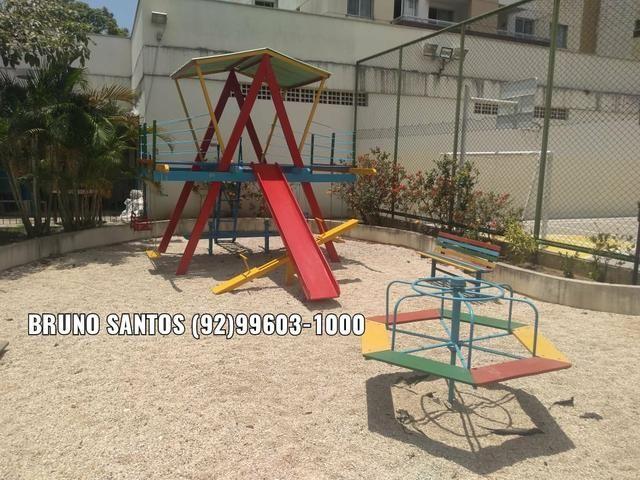 Family Morada do Sol / Aleixo. Pertinho do Adrianópolis. Apartamento com três quartos - Foto 9