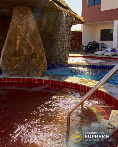 Flat no centro de Caldas Novas Golden Dolphin 24 horas - Foto 18
