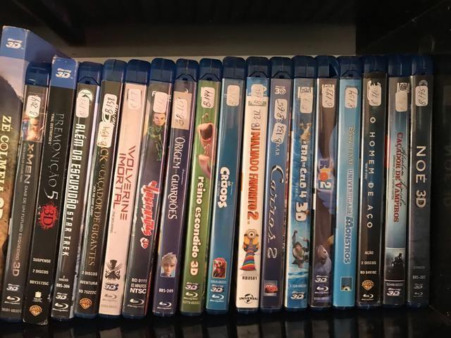 Filmes Blu-ray 3D e normais - coleção - Foto 2