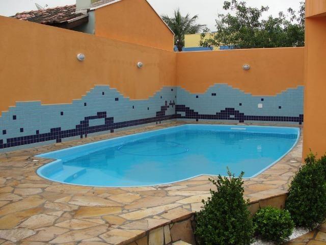 Residência em Itapoá ,5q.(4suítes), hidro, snooker, wifi,60m do mar, monitoramento 24h - Foto 10