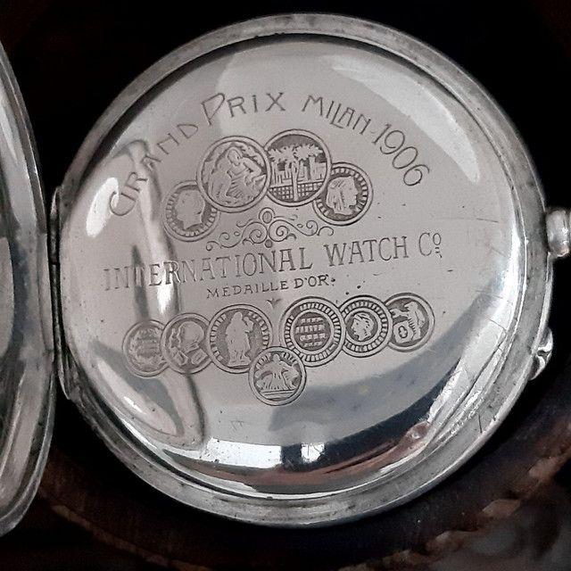 Relógio de Bolso Internacional Watch - Foto 2