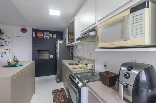 Apartamento à venda com 2 dormitórios em São sebastião, Porto alegre cod:EL56356639 - Foto 13