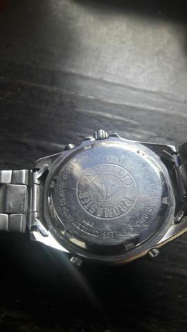 Relogio citizen wr 100 cronograph mascara nega - Foto 4