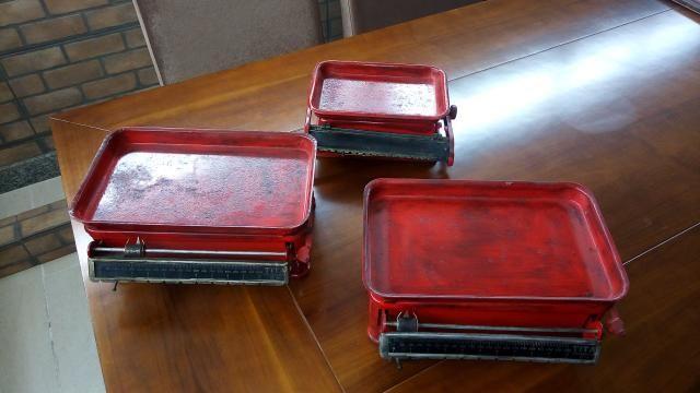 Três balanças antigas titan de ferro - Foto 3