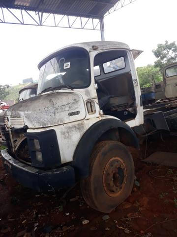 Cabine caminhão Mercedes Benz 1113 1313 - Foto 7