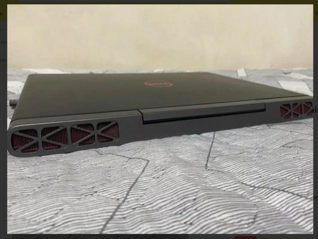 Notebook Dell 7567 Gamer I7 7700hq Geforce 1050ti Fullhd, caixa +nota fiscal - Foto 2