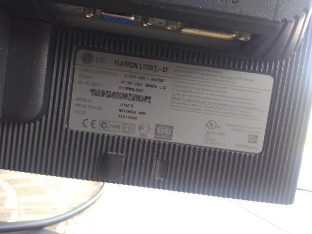 Monitor LG para consertar - Foto 2